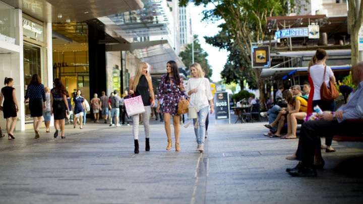 Queen Street Mall Shopping