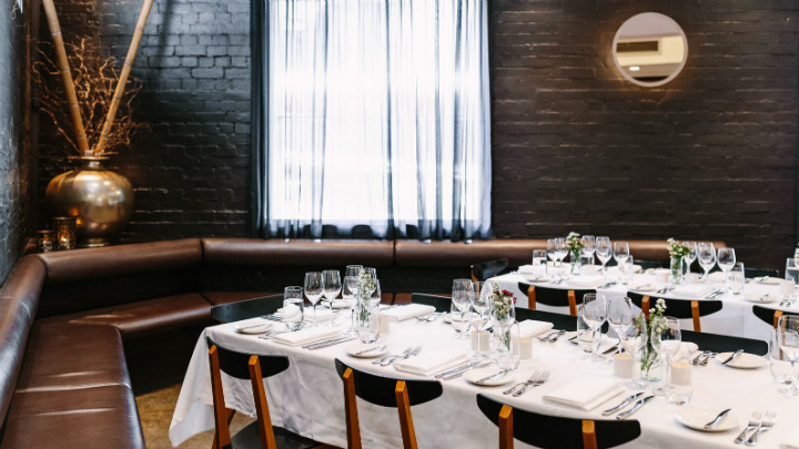 e'cco bistro Private dining room