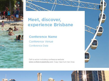 Convention Bureau collateral