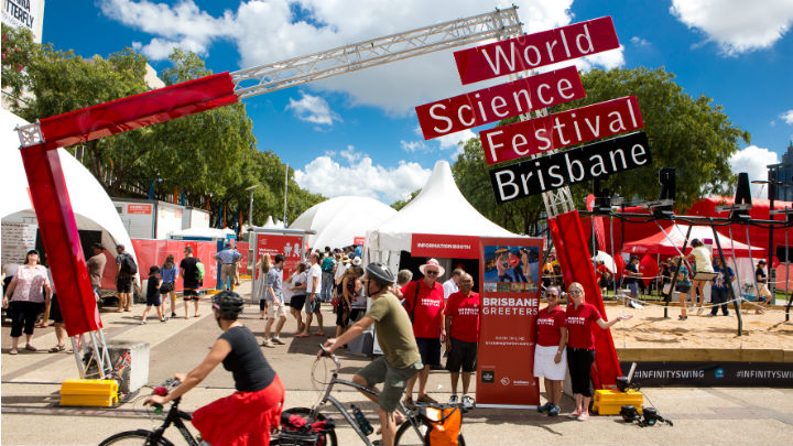World Science Festival Entrance