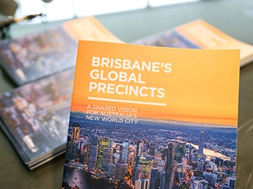 Brisbane Global Precincts launch