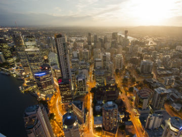 Brisbane City Night