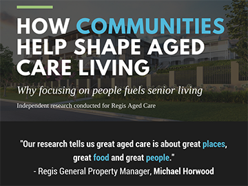 Regis Aged Care Infographic