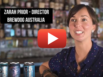Zarah Prior from BrewDog Australia talks to The Brisbane Report