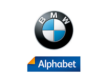 BMW and Alphabet logo