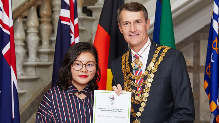 Lord Mayor's International Student Friendship Ceremony