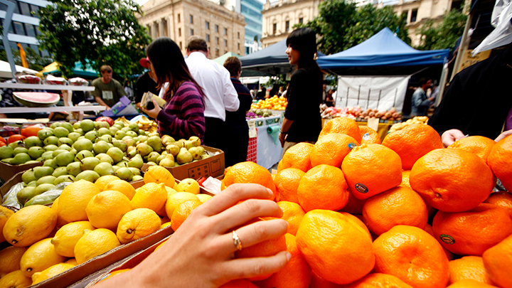 Fruit and Vegetable markets in Brisbane