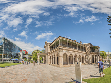 QUT Buildings in the Brisbane sun